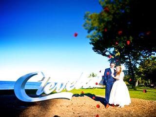 The wedding of Cassie and Dino