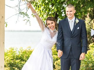 The wedding of Kristen and Brady