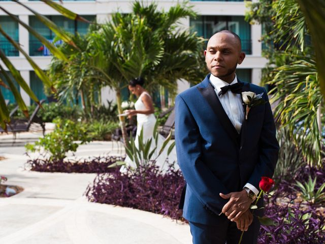 Shanedely and Gillmore's Wedding in Willemstad, Curacao 13