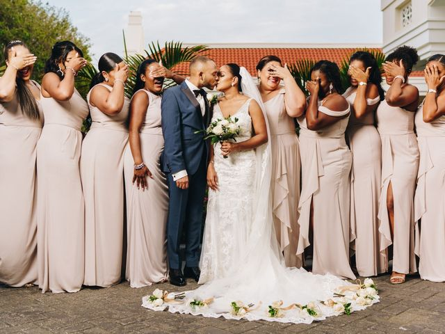 Shanedely and Gillmore's Wedding in Willemstad, Curacao 15