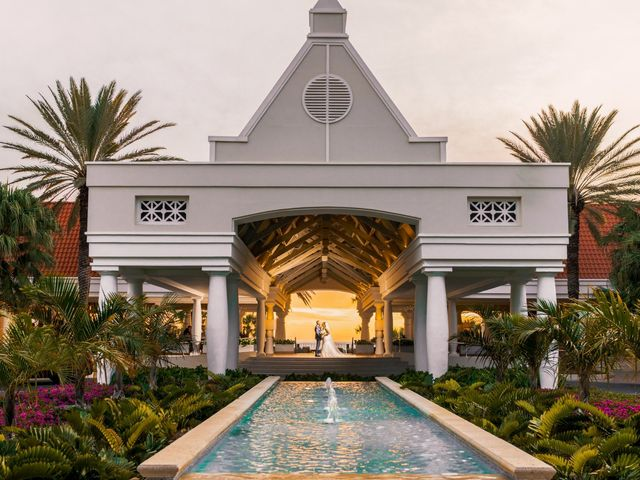 Shanedely and Gillmore's Wedding in Willemstad, Curacao 17
