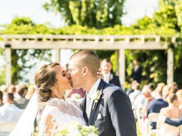 Brady and Kristen's Wedding in Oswego, New York 11