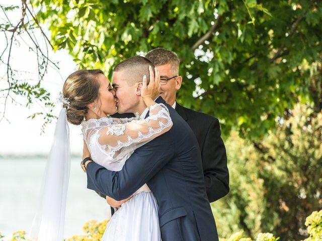 Brady and Kristen's Wedding in Oswego, New York 12