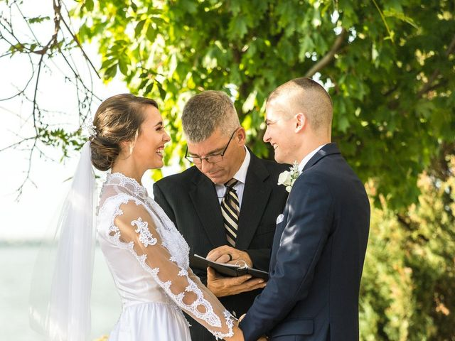 Brady and Kristen's Wedding in Oswego, New York 13