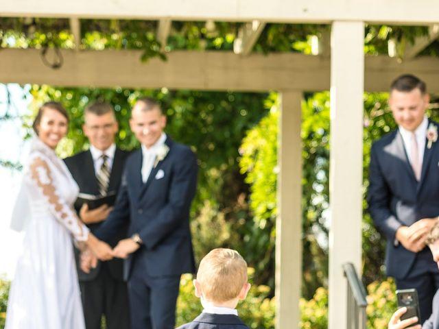 Brady and Kristen's Wedding in Oswego, New York 14