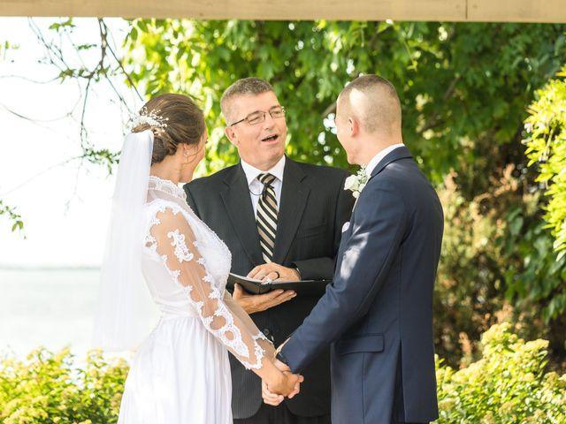 Brady and Kristen's Wedding in Oswego, New York 16
