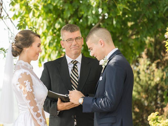 Brady and Kristen's Wedding in Oswego, New York 17