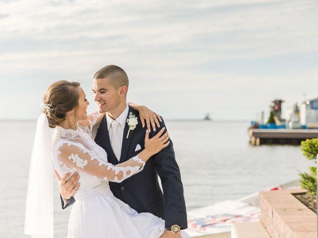 Brady and Kristen's Wedding in Oswego, New York 42