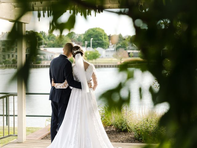 Brady and Kristen's Wedding in Oswego, New York 43