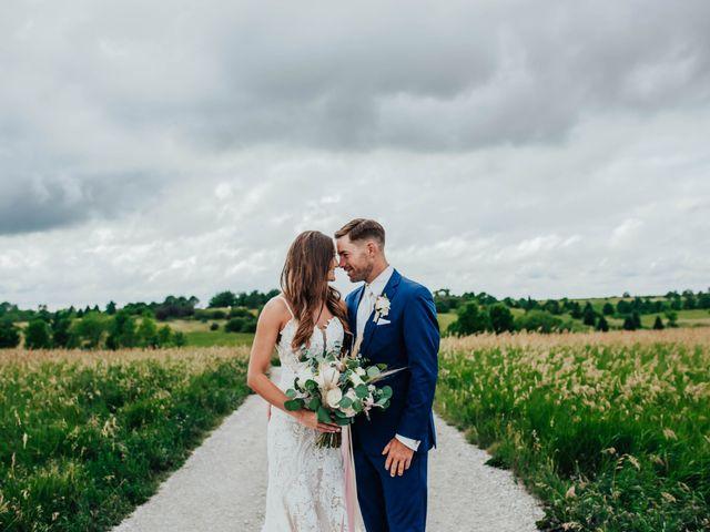 Brandon and Spencer's Wedding in Dallas Center, Iowa 2