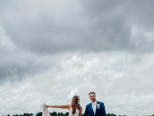 Brandon and Spencer's Wedding in Dallas Center, Iowa 6