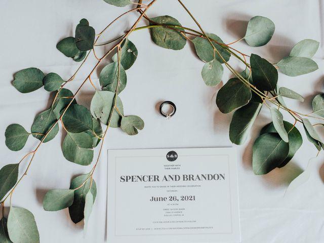 Brandon and Spencer's Wedding in Dallas Center, Iowa 7