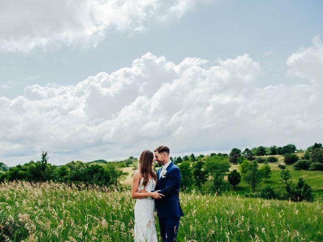 Brandon and Spencer's Wedding in Dallas Center, Iowa 10