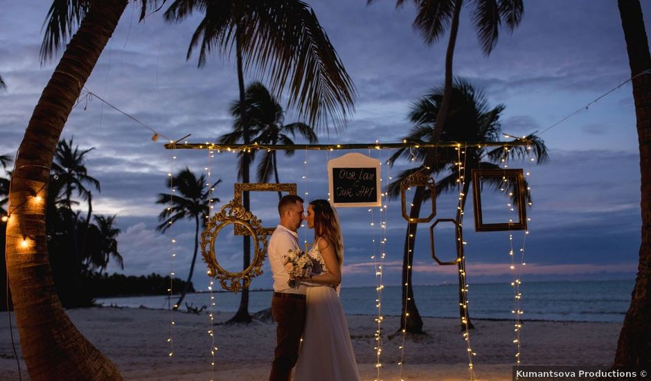 Austris and Inguna's Wedding in Punta Cana, Dominican Republic