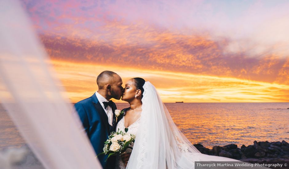 Shanedely and Gillmore's Wedding in Willemstad, Curacao