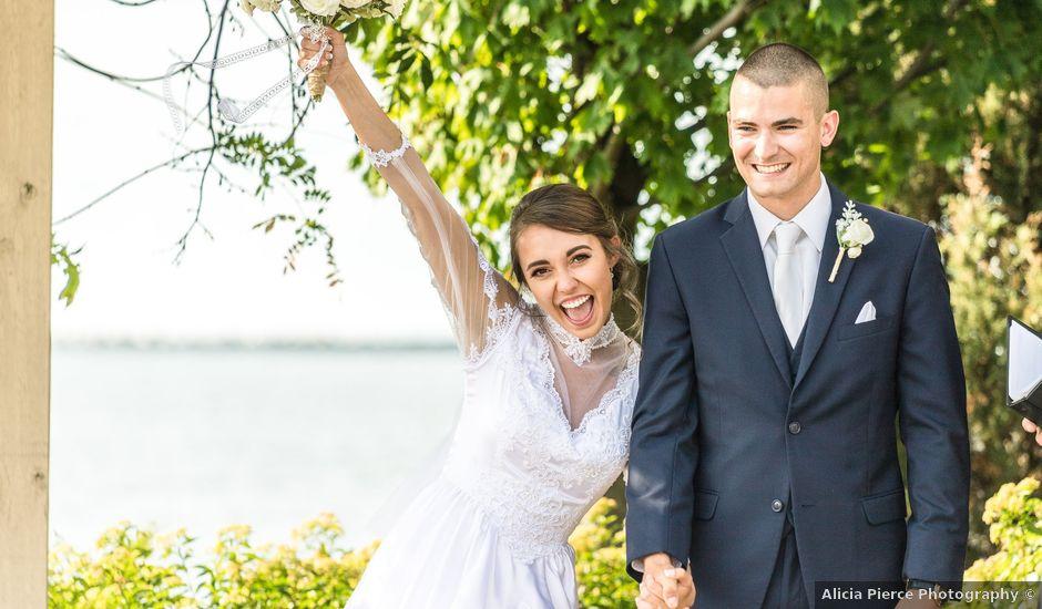 Brady and Kristen's Wedding in Oswego, New York