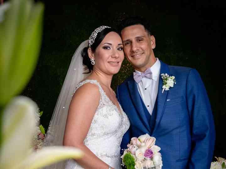 The wedding of Bárbara and Miguel