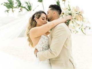 The wedding of Ashley and Winston