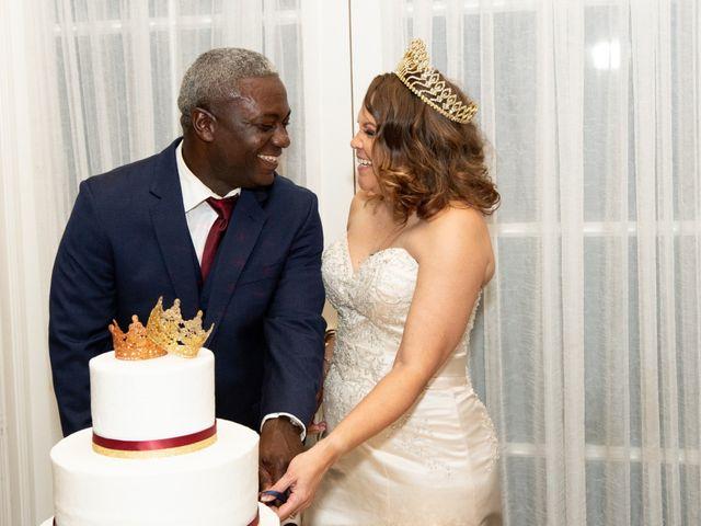 The wedding of Joy and Dedrick