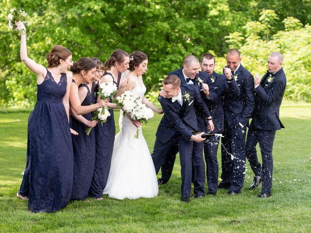 Zack and Carly's Wedding in Wilkes Barre, Pennsylvania 11