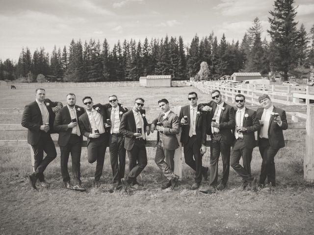 Erik and Hannah's Wedding in Ravensdale, Washington 17
