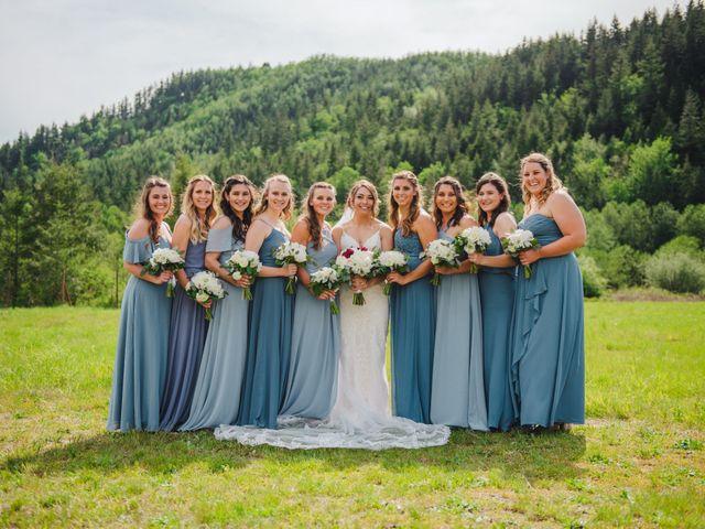 Erik and Hannah's Wedding in Ravensdale, Washington 20