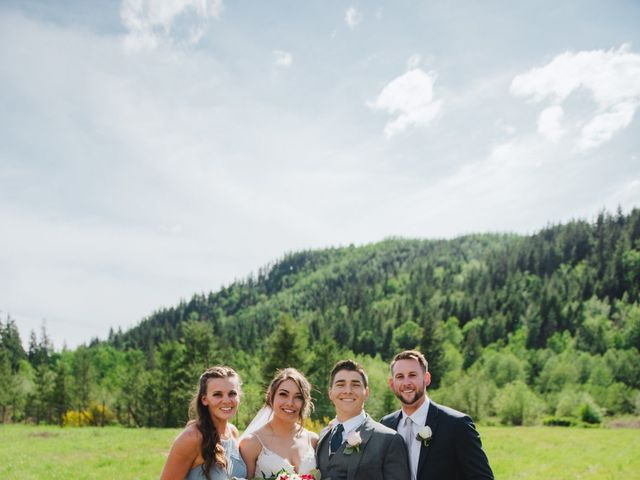 Erik and Hannah's Wedding in Ravensdale, Washington 21