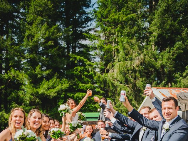 Erik and Hannah's Wedding in Ravensdale, Washington 23