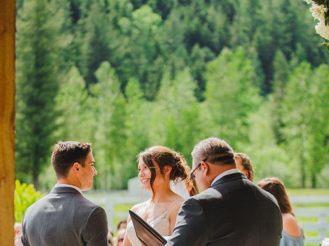 Erik and Hannah's Wedding in Ravensdale, Washington 28