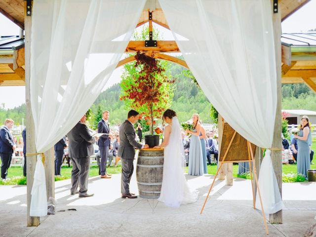 Erik and Hannah's Wedding in Ravensdale, Washington 30
