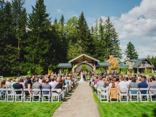 Erik and Hannah's Wedding in Ravensdale, Washington 31