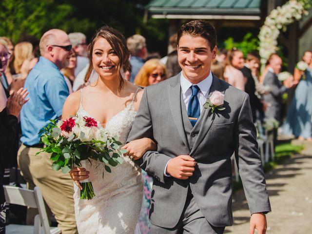 Erik and Hannah's Wedding in Ravensdale, Washington 32