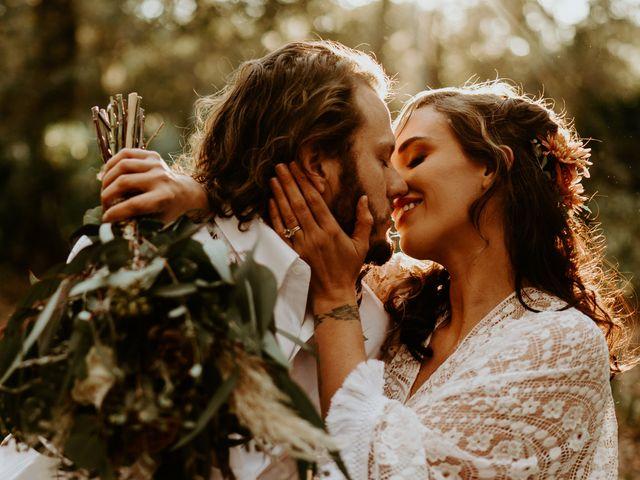The wedding of Bridget and Michael