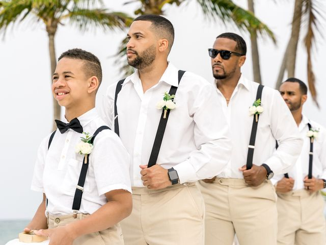 Winston and Ashley's Wedding in Punta Cana, Dominican Republic 35