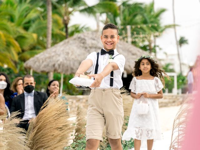 Winston and Ashley's Wedding in Punta Cana, Dominican Republic 41