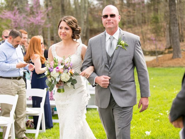 Amanda and Cody's Wedding in Cleveland, North Carolina 16