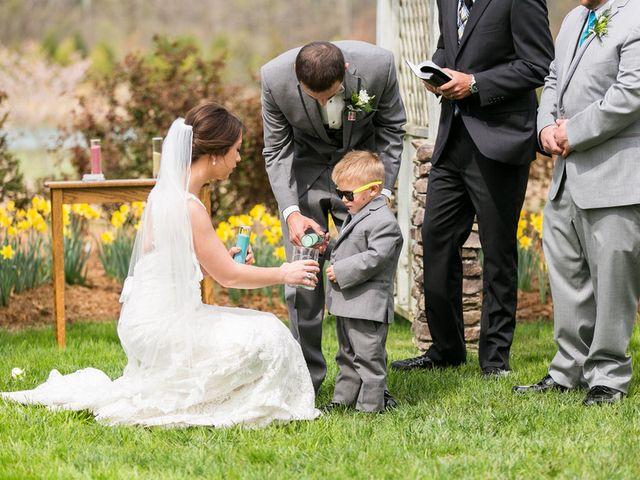 Amanda and Cody's Wedding in Cleveland, North Carolina 18