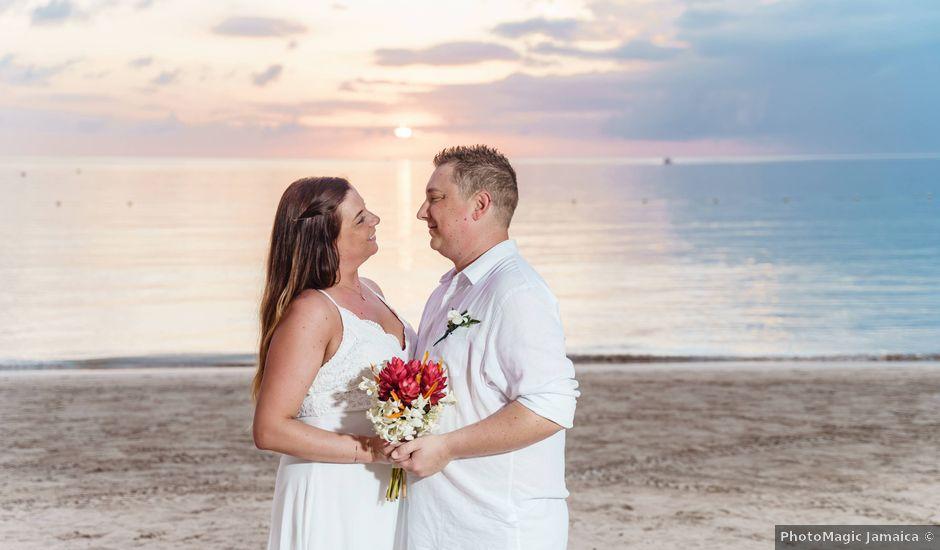 Gary and Amanda's Wedding in Negril, Jamaica
