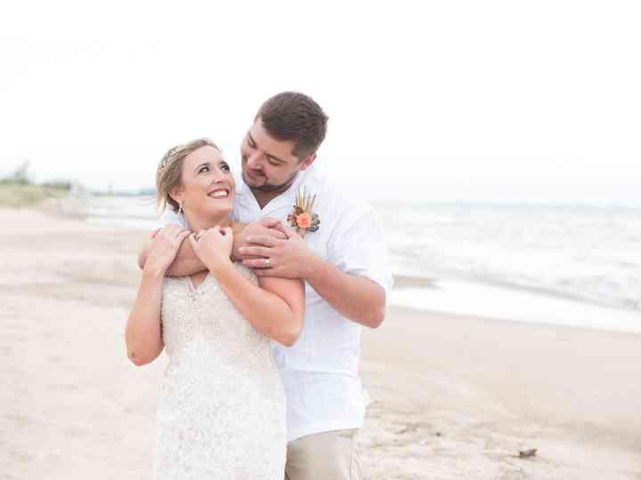 The wedding of Lauren and Donald