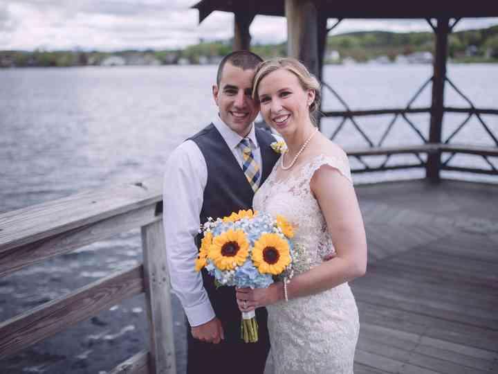 The wedding of Brianna and Zachary