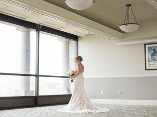The wedding of Lauren and Donald 1