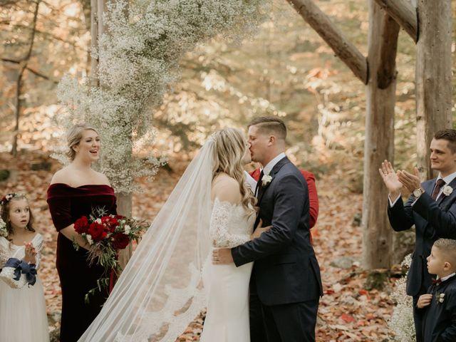 Daniel and McKenzie's Wedding in Fryeburg, Maine 12