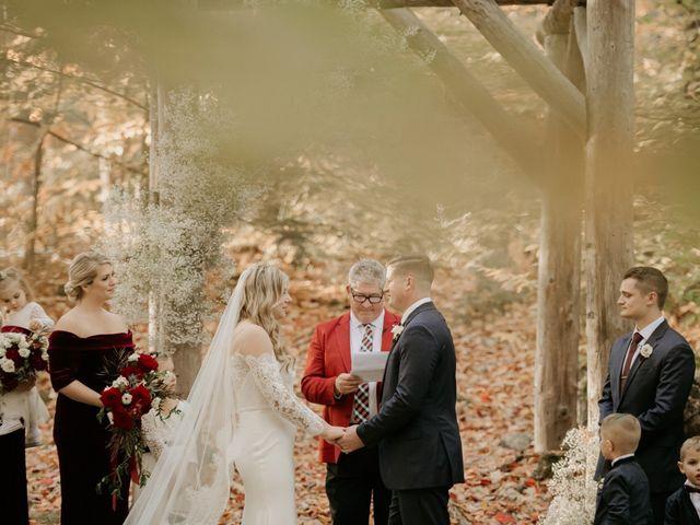 Daniel and McKenzie's Wedding in Fryeburg, Maine 25