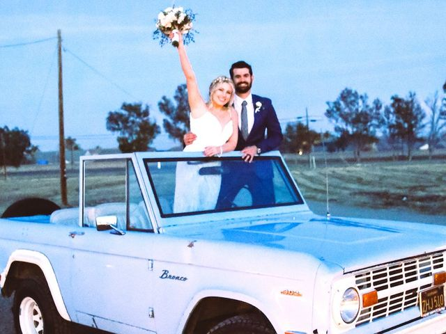 The wedding of Leigh and Tim