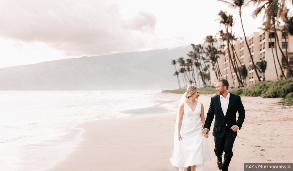 Lauren and Scott's Wedding in Kihei, Hawaii