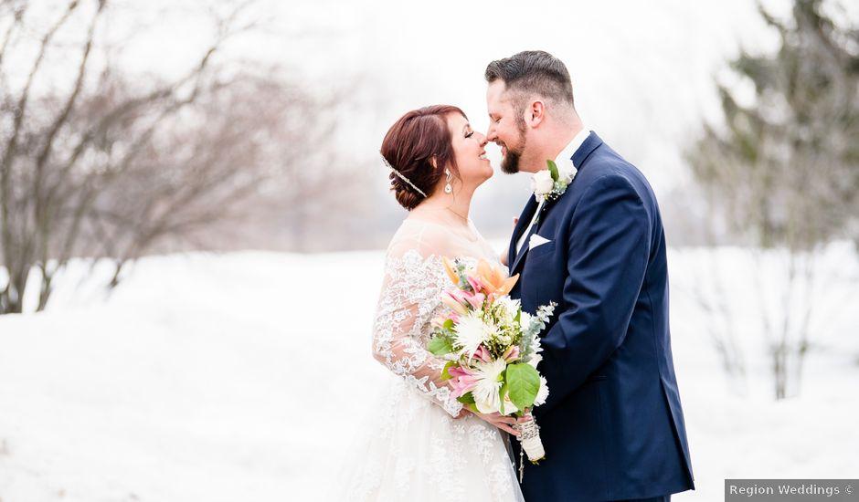 Robert and Sarah's Wedding in Chesterton, Illinois