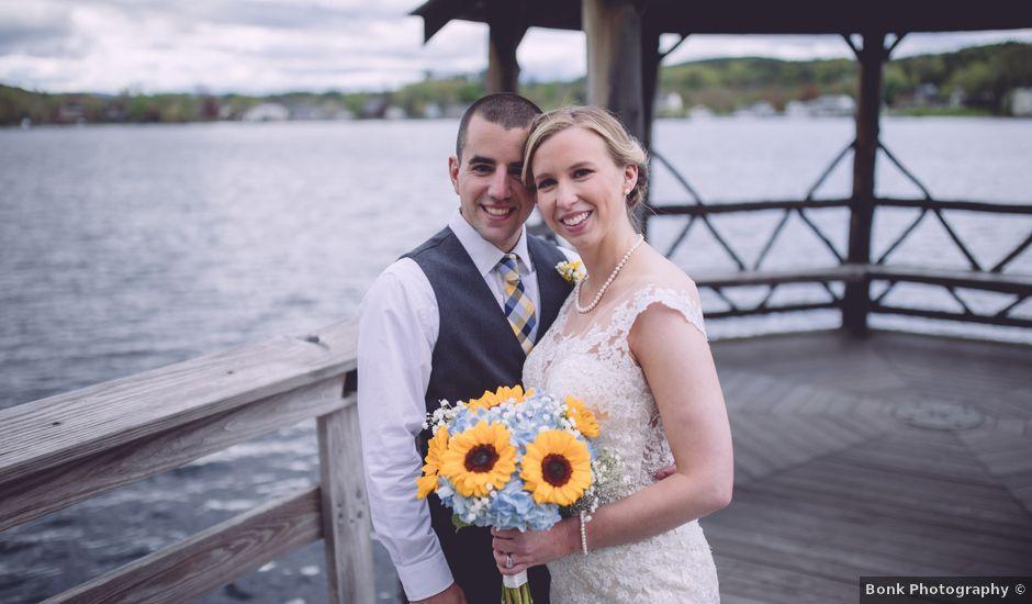 Zachary and Brianna's Wedding in Meredith, New Hampshire