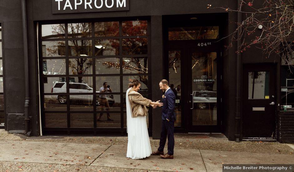 Nick and Ariel's Wedding in Portland, Oregon
