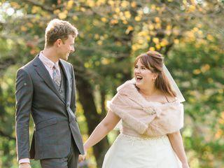 The wedding of Erin and Simon