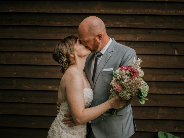 The wedding of Kelly and Derick